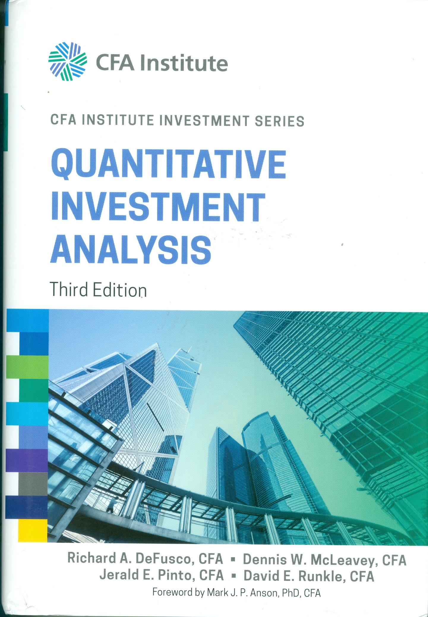 CFA Series Quantitative Invesment Analysis.jpg